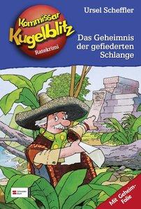 Kommissar Kugelblitz 25. Das Geheimnis der gefiederten Schlange