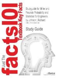Studyguide for Miller and Freunds Probability and Statistics for