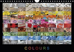 Colours (UK-Version) (Wall Calendar 2015 DIN A4 Landscape)
