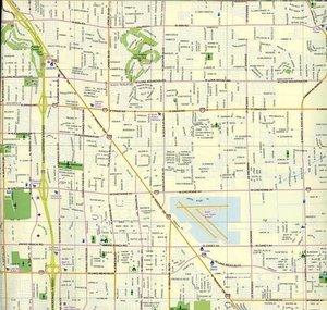 Las Vegas City Map 1 : 15 000 / 1 : 45 000