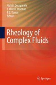 Rheology of Complex Fluids