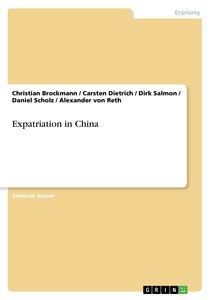 Expatriation in China