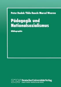 Pädagogik und Nationalsozialismus