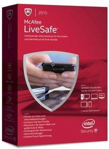 McAfee LiveSafe Standalone - Internetschutz für all Ihre Geräte