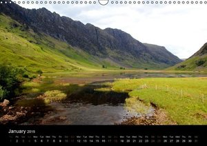 Scottish Highlands (Wall Calendar 2015 DIN A3 Landscape)