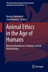 Animal Ethics for the Anthropocene
