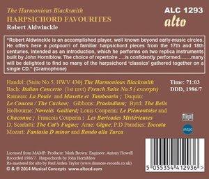Harpsichord Favourites