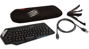 S.T.R.I.K.E.M Wireless QWERTZ-Tastatur für Android/Win Smart Dev