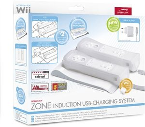 Speedlink SL-3410-SWT-01 ZONE Ladestation für Wiimotes® - Induct