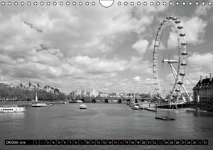 LONDON - Cityscapes (CH - Version) (Wandkalender 2016 DIN A4 que