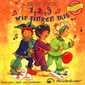Eins, zwei, drei wir singen mit. CD