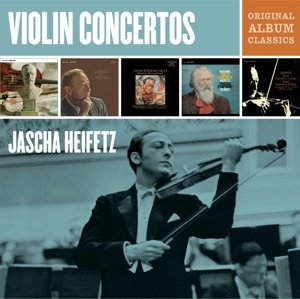 Jascha Heifetz Violin Concertos-Original Album C