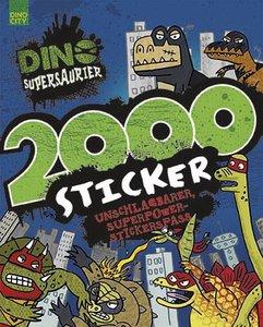 Dino Supersaurier 2000 Sticker