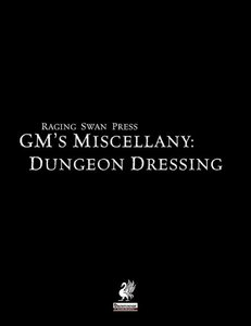 Raging Swan's GM's Miscellany