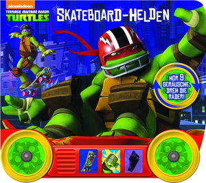 Teenage Mutant Ninja Turtles - Skateboard-Helden - Soundbuch mit