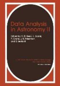 Data Analysis in Astronomy II