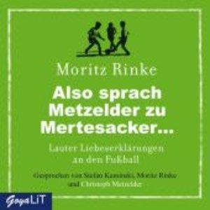 Also Sprach Metzelder Zu Mertesacker.Lauter Liebe