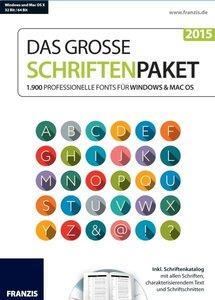 Das große Schriftenpaket 2015