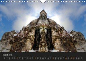 Spiegelwelten - Im Reich der Naturwesen (Wandkalender 2016 DIN A