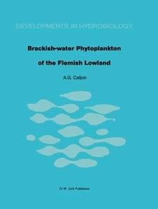 Brackish-water phytoplankton of the Flemish lowland
