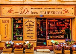 Delikatessen der Provence. Puzzle 1000 Teile