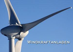 Windkraftanlagen (Posterbuch DIN A2 quer)
