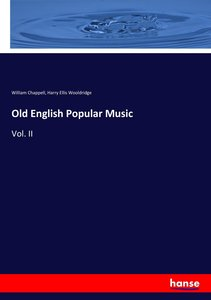 Old English Popular Music