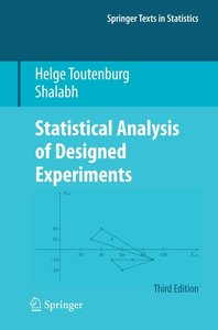 Statistical Analysis of Designed Experiments
