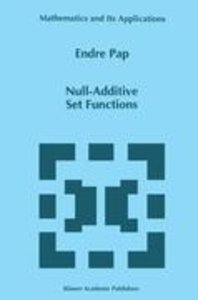 Null-Additive Set Functions