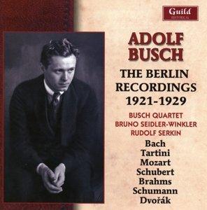 Die Berliner Aufnahmen 1921-1929