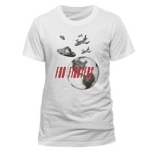 UFO (T-Shirt,Weiss,Größe M)
