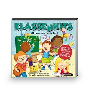 KlassenHits. 4 CDs. 143 Lieder rund um die Schule