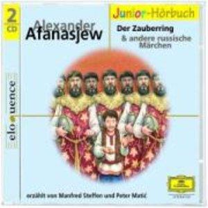 Der Zauberring und andere russische Märchen. 2 CDs