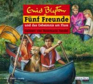 Fünf Freunde 47 und das Geheimnis am Fluss. 2 CDs