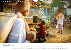 India - People Colours Religion (Wall Calendar 2015 DIN A4 Lands