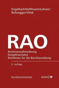 RAO Rechtsanwaltsordnung