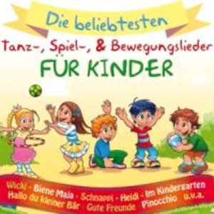 Kinder-Tanz-,Spiel-& Bewegungslieder
