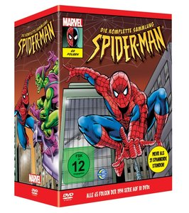 New Spiderman-Box Set (Staff