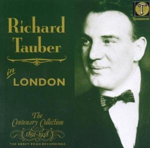 Richard Tauber In London (Aufn