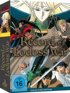 Record of Lodoss War - Gesamtausgabe - DVD Box (3 Discs)