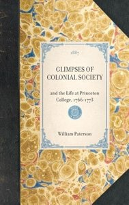 Glimpses of Colonial Society