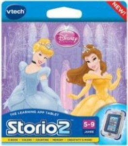 VTech 80-230204 - Disney Prinzessinnen: Storio 2 Lernspiel