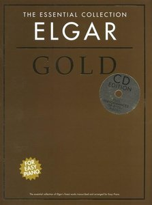 THE EASY PIANO COLLECTION ELGAR GOLD EASY PIANO BOOK/CD