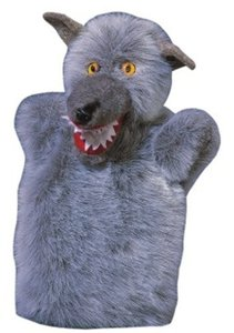 Kersa Classic 12630 - Handpuppen Wolf, 33cm