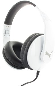 Puma Vortice Headset Over-Ear + Mic, weiß