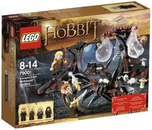 LEGO® The Hobbit 79001 - Flucht vor den Mirkwood Spinnen