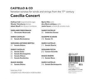 Castello & Co-Venetian sonatas for winds and str