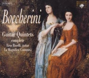 Boccherini:Sämtliche Gitarrenquintette (GA)