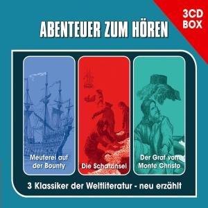 DIE 3-CD ABENTEUER HÖRSPIELBOX