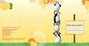 Die Pinguine aus Madagascar Schulstartalbum